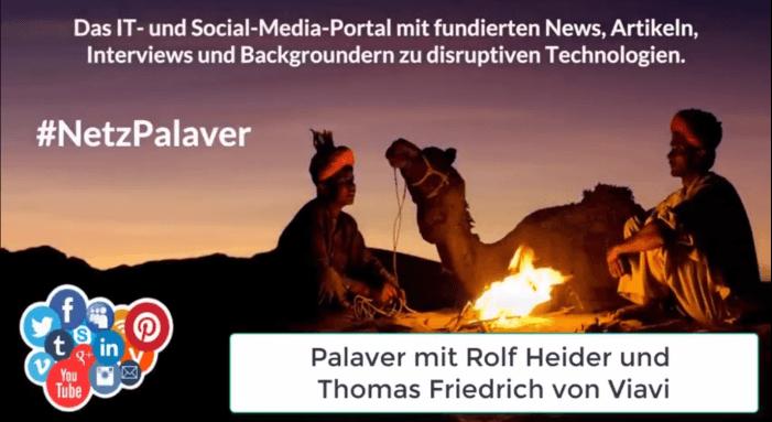 Palaver mit Viavi zur Fiber-Security