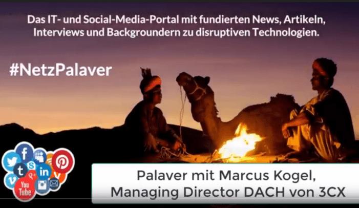 Palaver mit 3CX zur eigenen UCC-Plattform