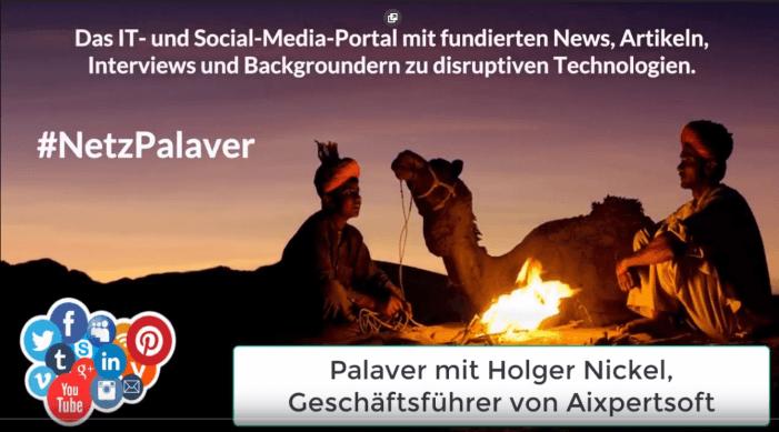 Palaver mit Aixpertsoft zur Datacenter-Infrastruktur