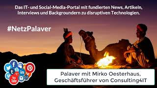 Palaver mit Consulting4IT zur  Notwendigkeit von Systemspezialisten