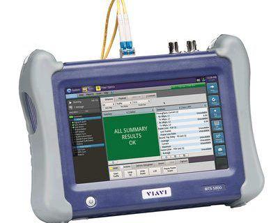 Kleinster Handheld-Netzwerktester der Branche für Mobil- und Kabelnetze