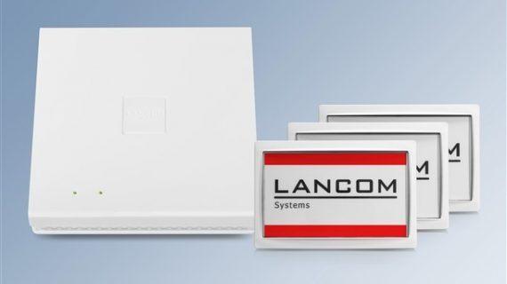 Lancom erhält Patent für Integration von Wireless-ePaper