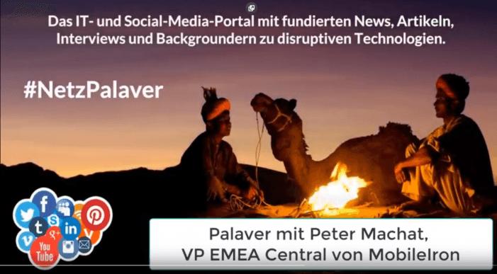 """Palaver mit MobileIron zum sicheren """"Modern Work"""""""