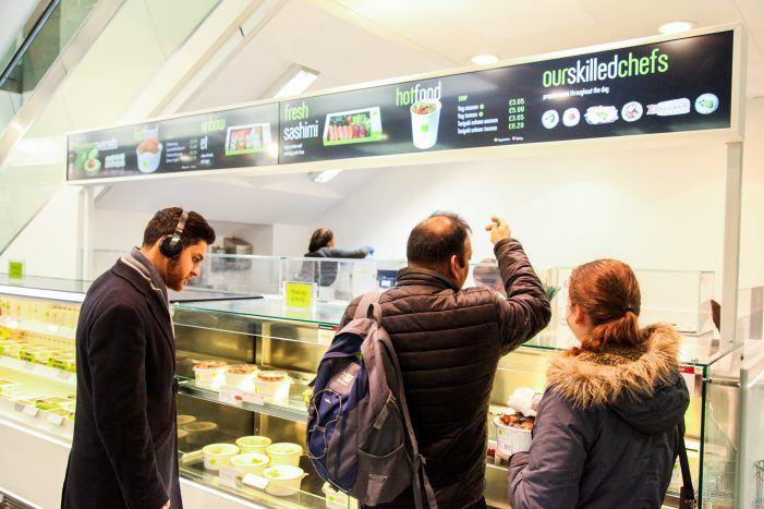 Sushi-Kette modernisiert auf Digital-Signage