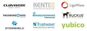 Bestens aufgestellt: Starke Partner für Security- und Wireless.