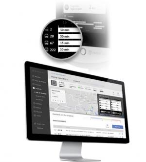 Webbasiertes E-Paper-Verwaltungssystem mit zahlreichen Apps und Widgets.