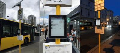 In Berlin hat der BVG bereits etliche Bushaltestellen mit E-Paper ausgestattet.