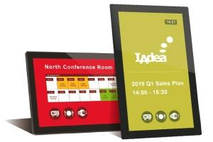 Digital-Signage-Konferenzraumlösung mit doppelter Display-Größe und erweiterten Funktionen