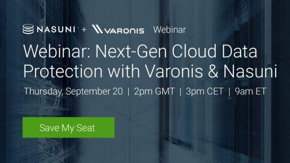 Varonis-Webinar zur Next-Gen-Cloud-Datensicherheit, 20. September