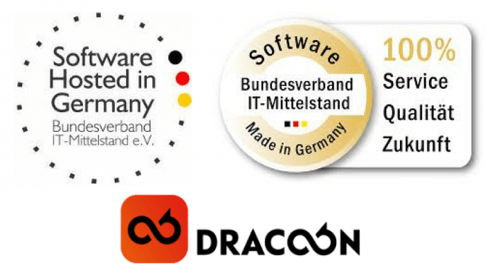 "Dracoon erhält Siegel ""Software Made in Germany"" und ""Software Hosted in Germany"""