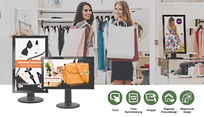 Universelles Retail-Signboard für Samsungs Digital-Signage-Software MagicInfo