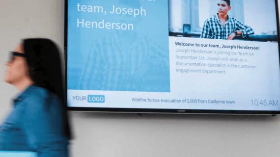 Digital-Signage im Unternehmen