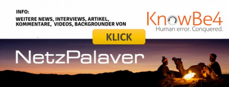 Palaver mit KnowBe4 zum Invest von KKR – Netzpalaver