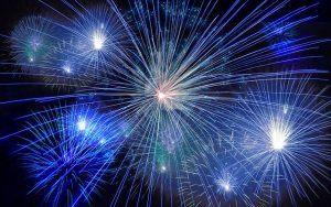 Feuerwerk für den Feinstaub-Sensor