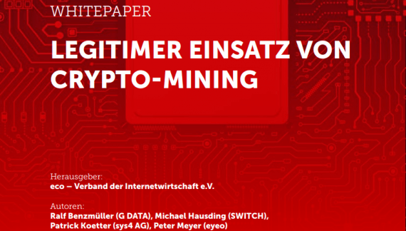 10 Spielregeln vor für einen legitimen Einsatz von Crypto-Mining