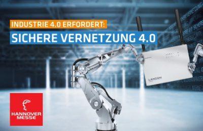Lancom zeigt Software-Defined-Networking für die Industrie 4.0 auf der HMI