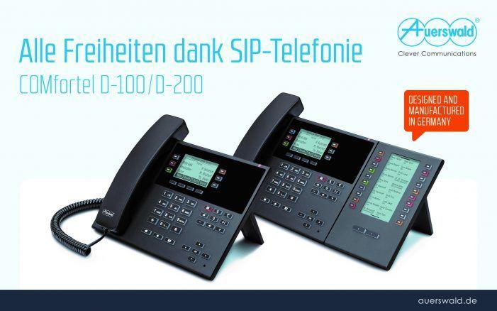 SIP-Telefone für Small-Office-Umgebungen von Auerswald