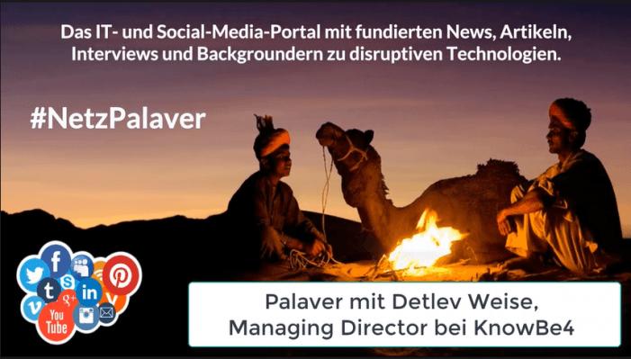 Palaver mit KnowBe4 zum Invest von KKR