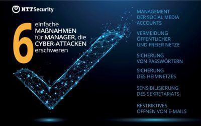 6 einfache Maßnahmen erschweren Cyber-Attacken auf Führungskräfte