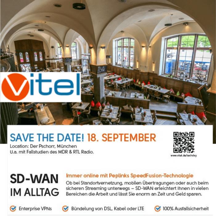 SD-WAN im Alltag am 18. September in München