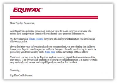 KnowBe4 warnt vor Equifax-Scams