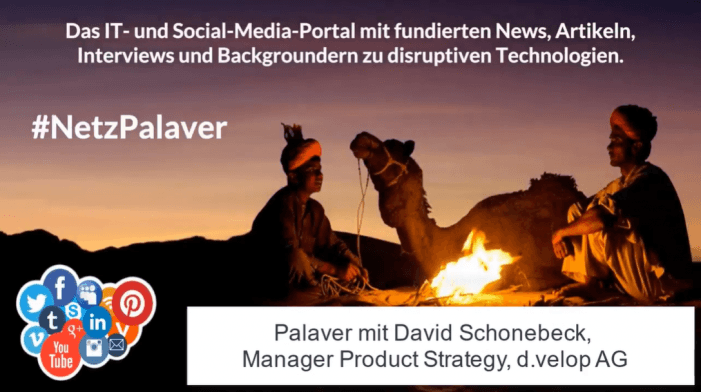"Palaver mit d.velop zur Intention der ""d.velop labs"""
