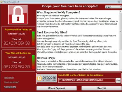 WannaCry bildet immer neue Varianten aus