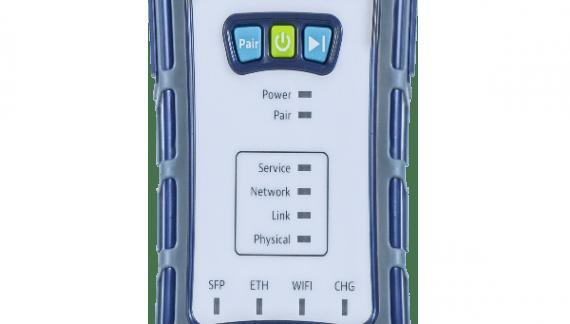 PON-, Ethernet- und WiFi-Messungen in einem Gerät vereint