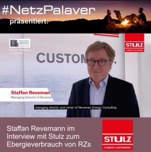 Staffan Revemann im Interview mit Stulz zum exorbitanten Stromverbrauch in Datacentern