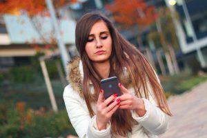 Wenn Textnachrichten versuchen Passwörter zu stehlen