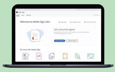 Adobe-Sign optimiert elektronische Signaturprozesse