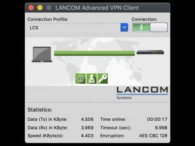 VPN-Client für MacOS