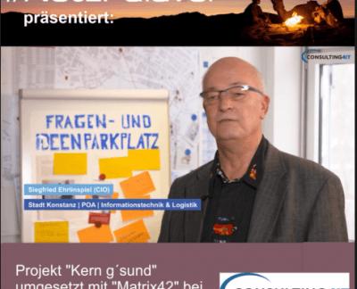 Stadt Konstanz bringt mit Matrix42 Verwaltung und IT näher zusammen