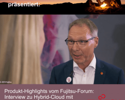 Fujitsu-Forum-2019 – Interview zu Hybrid-Cloud