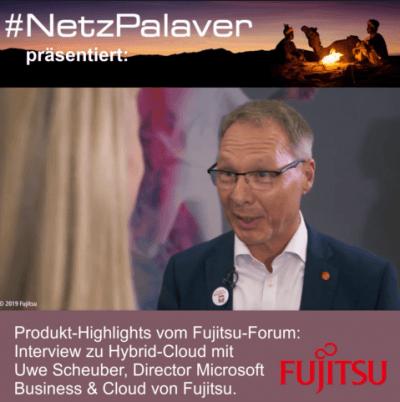 Fujitsu-Forum-2019 – Interview zu Hybrid-Cloud