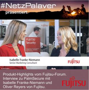 Fujitsu-Forum-2019 – Interview zu PalmSecure
