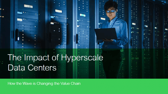 Einfluss von Hyperscale-Rechenzentren