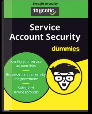 """E-Book zu """"Service Account Security for Dummies"""""""
