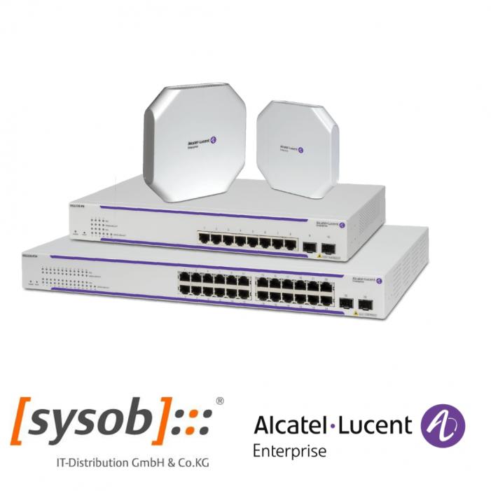 Sysob erweitert sein Wireless-LAN-Portfolio mit Alcatel-Lucent Enterprise
